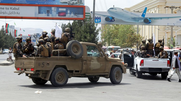 Report: Kabul airport resumes operation to domestic cities, receive aid