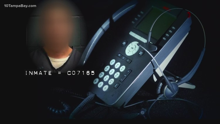 10 Investigates: Florida inmates are making robocalls – and the state is cashing in on them