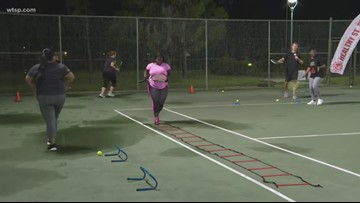 Cardio tennis: Free classes offered in St. Petersburg