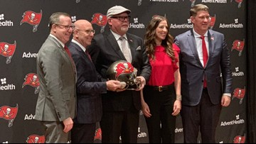 Bruce Arians supports Jameis Winston in first news conference with Bucs