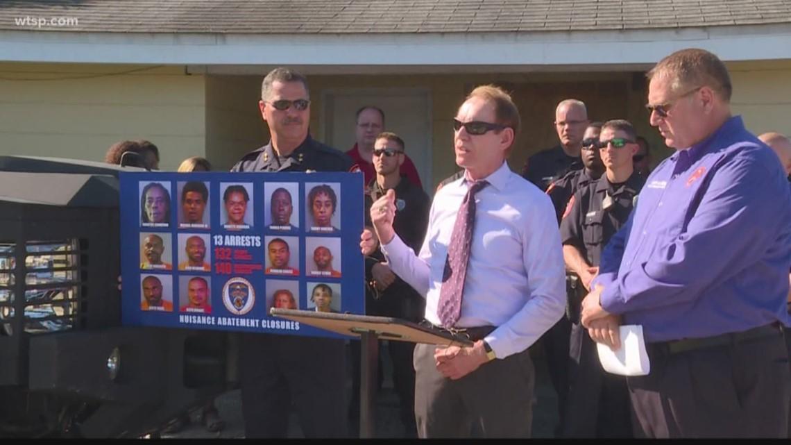 Massive drug bust at a known Lakeland drug house