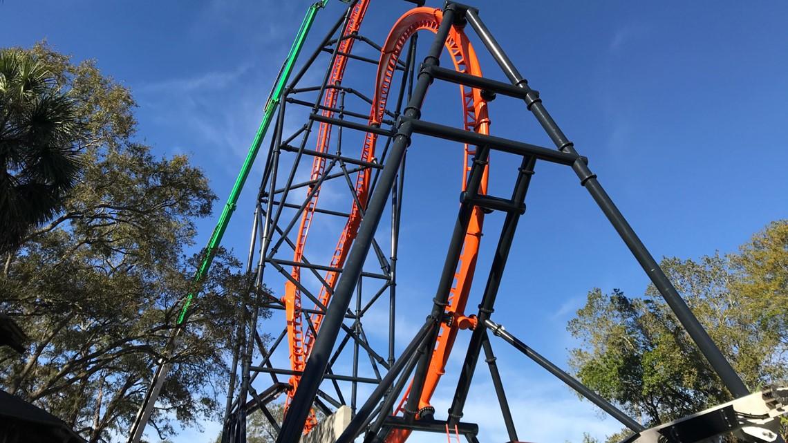Busch Gardens will open new triple-launch roller coaster in April