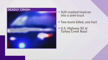FHP releases names of teens killed in Plant City crash