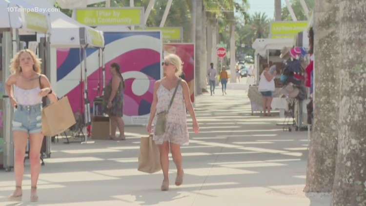 Local business owners noticing slower traffic as red tide plagues St. Petersburg