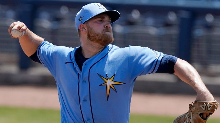 Rays pitcher David Hess says he's starting chemotherapy to treat cancerous tumor in chest