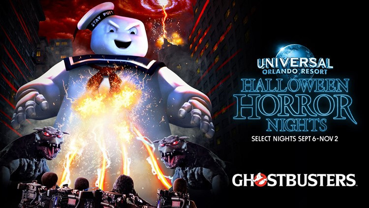 'Ghostbusters' haunted house coming to Halloween Horror Nights at Universal Orlando