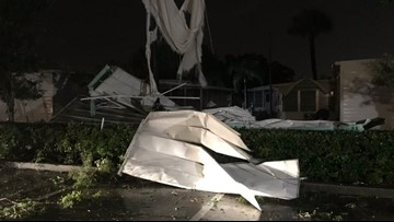 National Weather Service confirms a tornado touched down in Seminole
