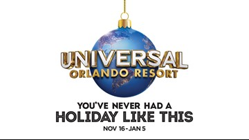 10 News wants to send you to Universal Orlando Resort this holiday season!