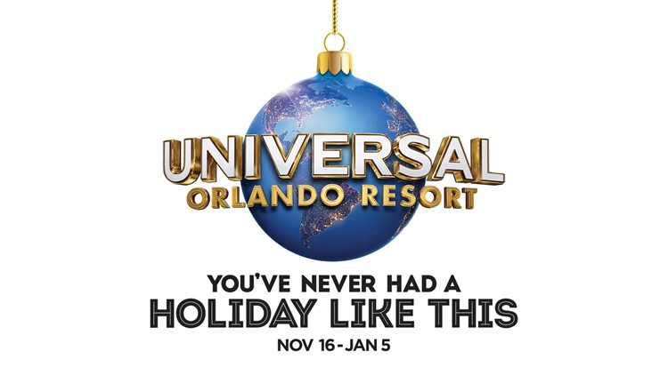 10 News wants to send you to Universal Orlando Resort this holiday season!