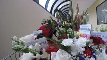 Power in petals: A milestone delivery for veterans