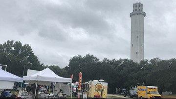 River Tower Festival creates fun and funds for restoration project