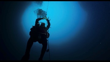 Mote pioneers research of Blue Holes in the Gulf of Mexico