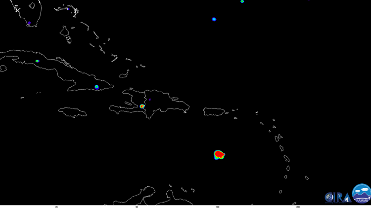 An Asteroid Hit Earth S Atmosphere Over The Caribbean Sea
