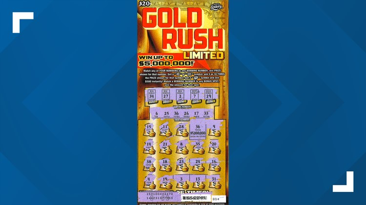 Spring Hill woman claims $5 million from Florida Lottery scratch-off