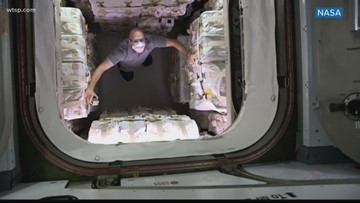 Special delivery made to International Space Station