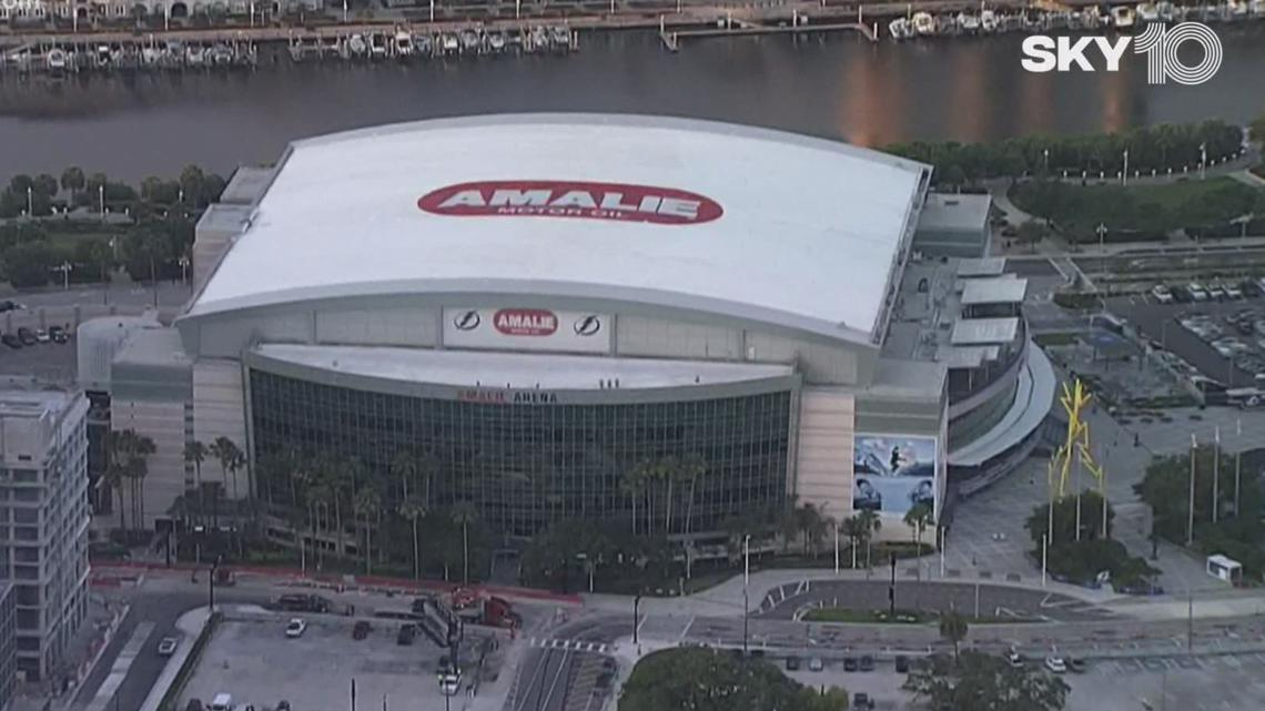 Lightning will allow 14,800 fans in Amalie Arena for Stanley Cup Semifinals