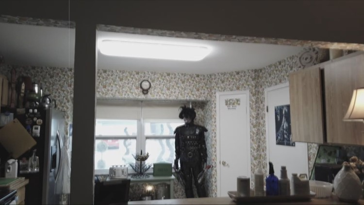Home used to film 'Edward Scissorhands' now a free museum dedicated to the Burton cult classic