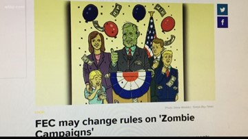 FEC may change rules on 'Zombie Campaigns'