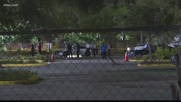 Man dead after Tampa mosque shooting, suspect in custody