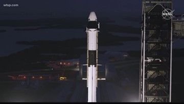 SpaceX 'manned' capsule launch set for Saturday morning