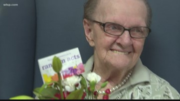Seniors surprised with flowers on Valentine's Day