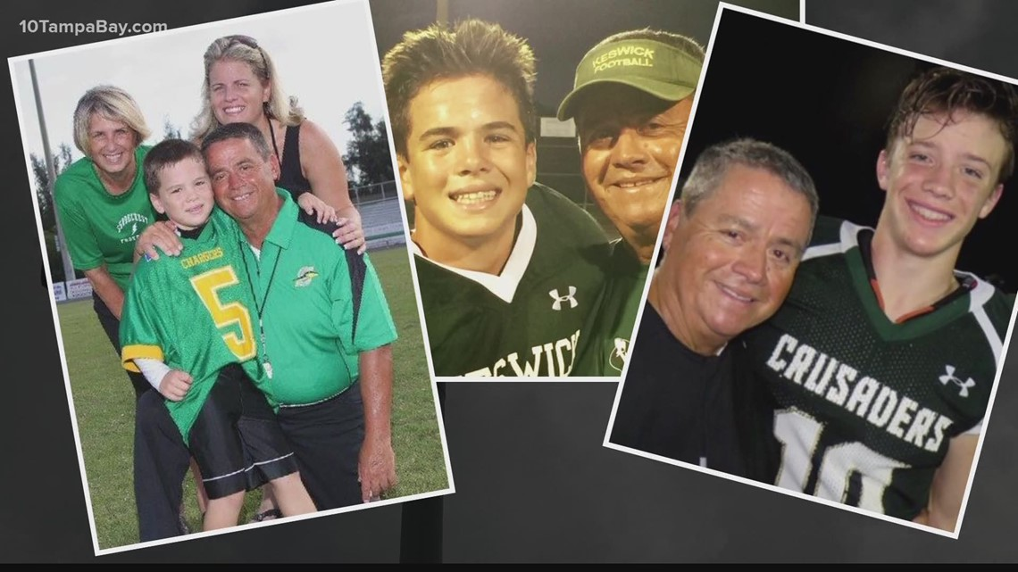 Keswick football coach celebrates 50th year on sidelines