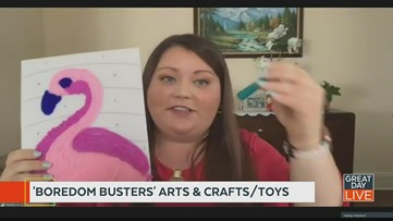 Top 'Boredom Buster' toys and 'Cabin Fever' arts & crafts