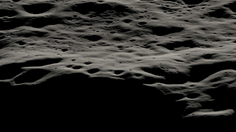 NASA rover set to land at Moon's not yet explored south pole