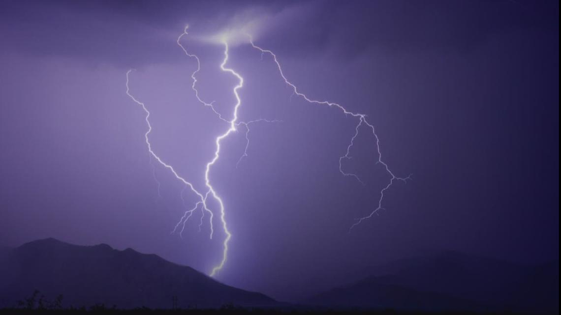Here's how to tell how far away a lightning strike is