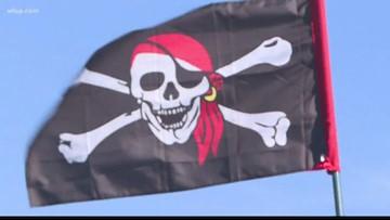 Kids get their pirate swag at Gasparilla Children's Parade