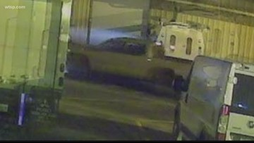 Police looking to identify truck believed involved in Lakeland shooting