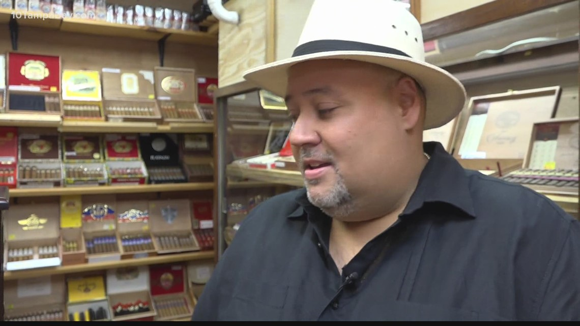 Son honors father's Tampa tobacco legacy with custom cigar