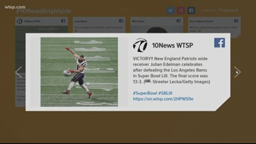 Fans react on social media to Super Bowl 53