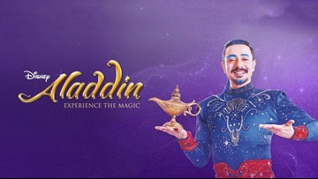 Win tickets to Disney's Aladdin!