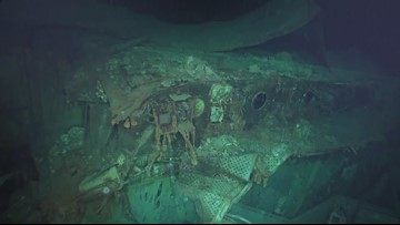 World War II aircraft carrier discovered in Pacific Ocean