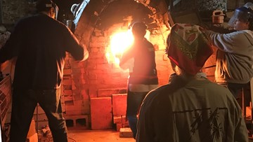 2,000-degree kiln creates one-of-a-kind pieces of ceramic