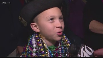 Pirates hit the streets for the Gasparilla Knight Parade