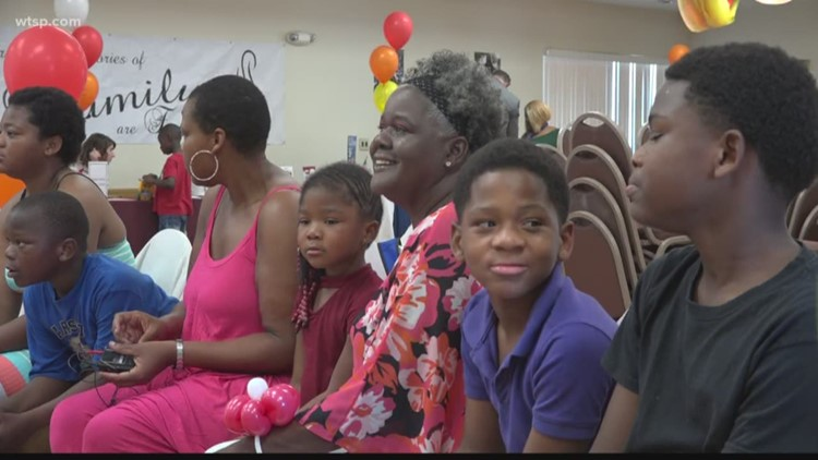 Tampa Housing Authority Honors Grandmother Who Adopted Her 7 Grandchildren