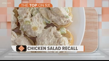 Ready-to-eat chicken salad products recalled due to possible listeria contamination