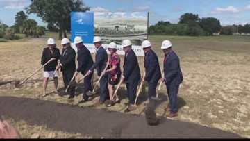 CAE USA breaks ground on new headquarters in Tampa