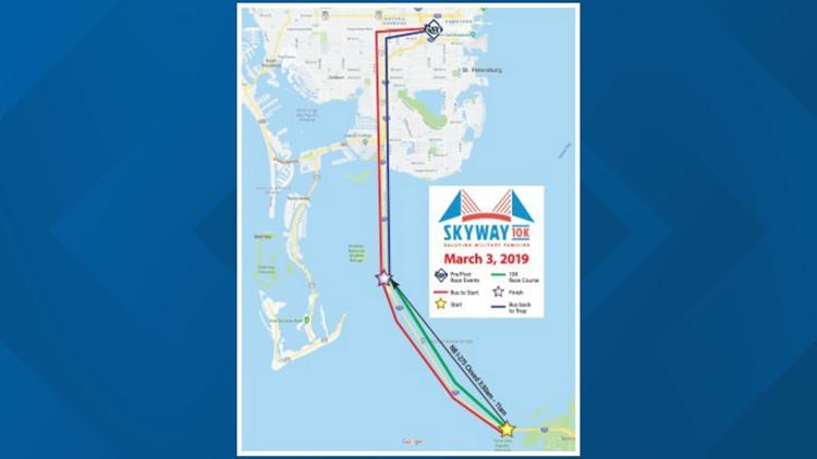 Skyway road closures