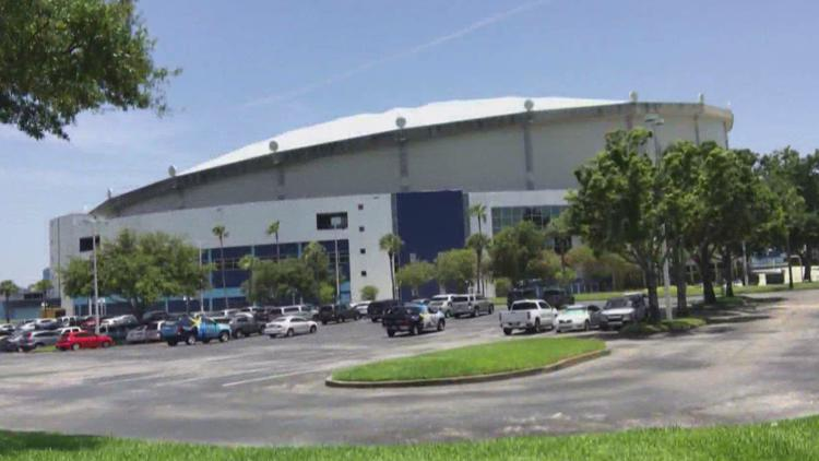 Ground-penetrating radar reveals 3 possible graves under Tropicana Field parking lot