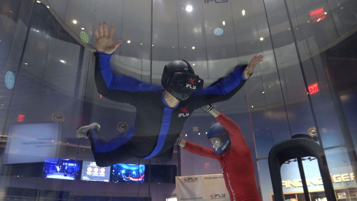 Virtual reality takes indoor skydiving to new heights
