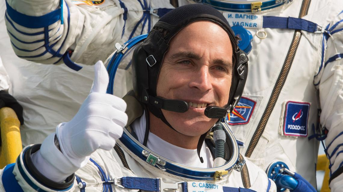 After 196 days in space, NASA astronaut Chris Cassidy is heading home