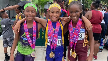 Nine-year-old Tampa track star gets national attention for her speed