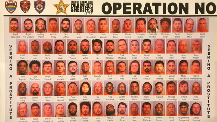 154 arrested in Polk County prostitution sting 052119