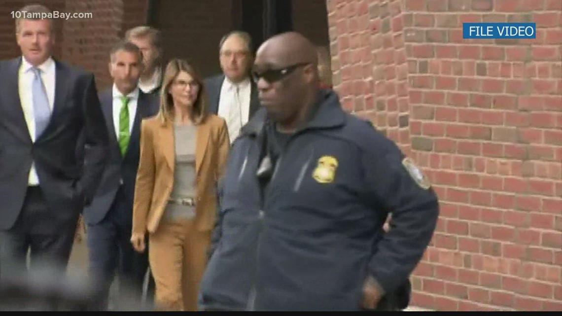 'Full House' actress Lori Loughlin reports to prison for 2 month sentence