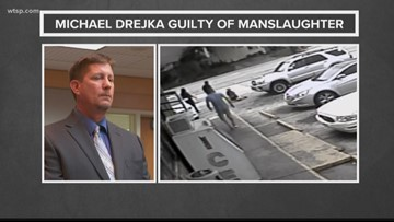 Michael Drejka found guilty of manslaughter in the shooting death of Markeis McGlockton