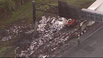 2 dead, 5 injured in I-75 crash