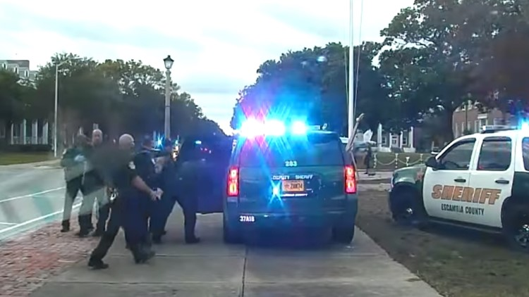 Sheriff's office releases dashcam video of terrorist attack at Naval Air Station Pensacola